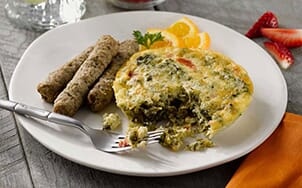 artichoke-spinach-and-roasted-red-pepper-frittata