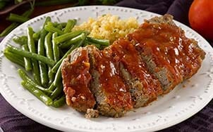 meatloaf-with-honey-bourbon-glaze