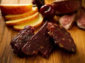Orchard Beef Jerky with Apples and Cherries