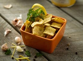 Lemon Herb Chips
