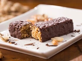 Chocolate Peanut Dream Crispy Bar