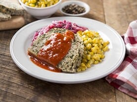 Turkey Meatloaf with Old Fashioned Tomato Sauce