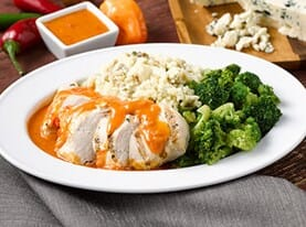 Grilled Chicken with Buffalo Sauce